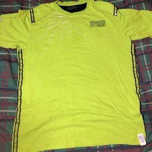 Coogi XXL tee shirt lime green